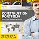 Construction Portfolio Presentation - VideoHive Item for Sale