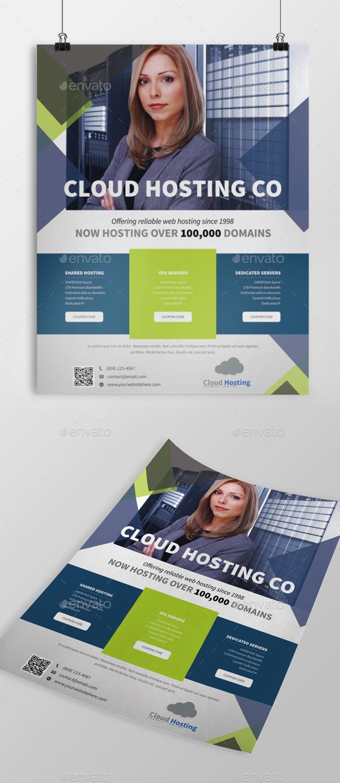Web Hosting Flyer - Commerce Flyers