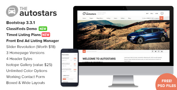 Auto Stars – Car Dealership & Listings WP Theme