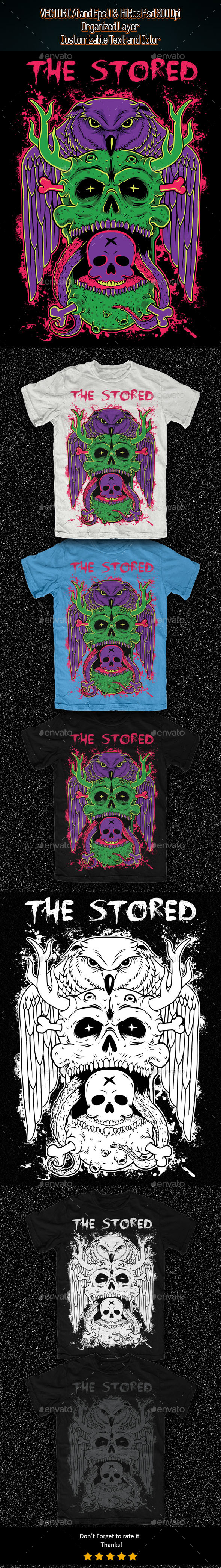 The Stored Illustration - Grunge Designs