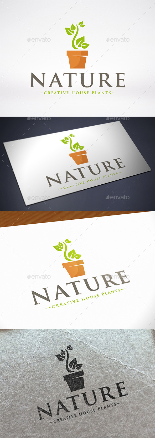 Decorative Flower Logo Template - Nature Logo Templates