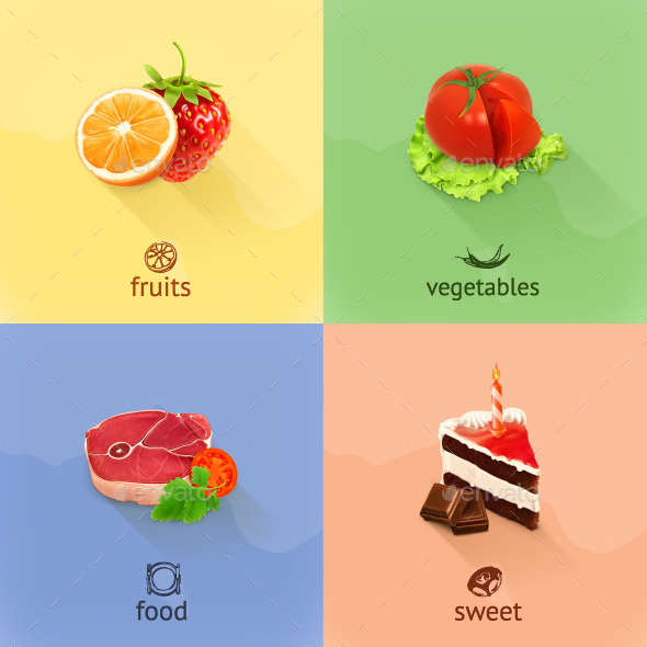 Food Illustration - Food Objects