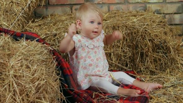 Child On The Farm
