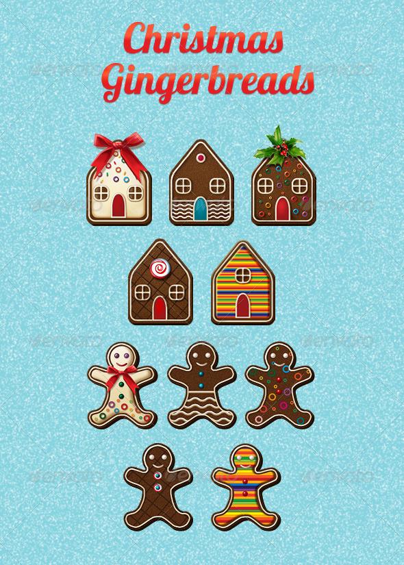 Christmas Gingerbreads - Seasonal Icons