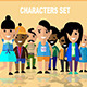 25 Flat Characters Design Vector Pack - GraphicRiver Item for Sale