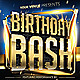 Birthday Bash Flyer v3 - GraphicRiver Item for Sale