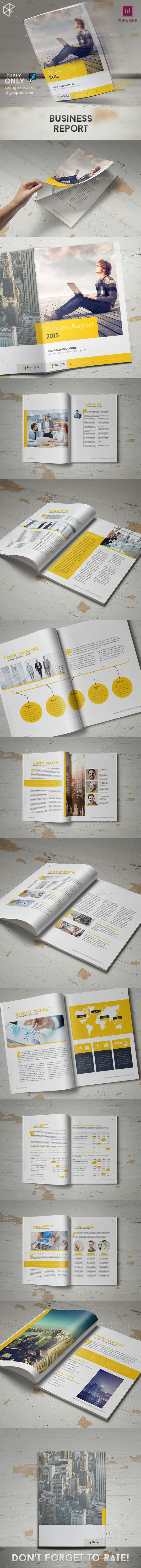 Business Report - Corporate Brochures