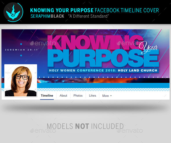 Knowing Your Purpose  Facebook Timeline Template - Facebook Timeline Covers Social Media