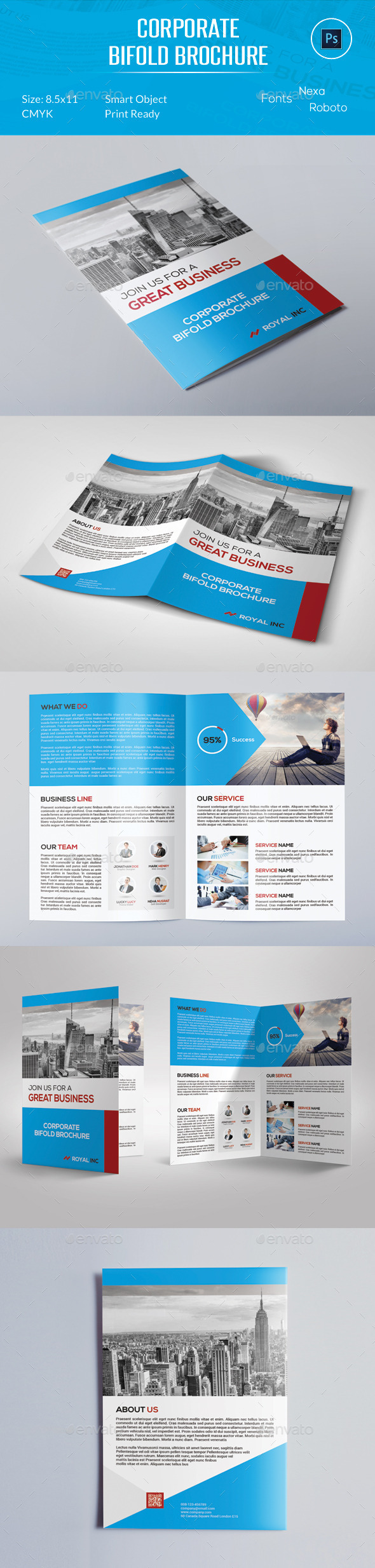 Corporate Bifold Brochure
