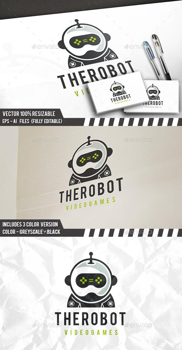 Robot Games Logo - Humans Logo Templates