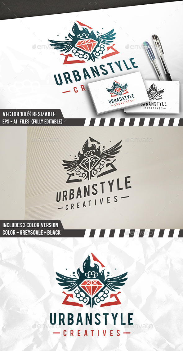 Urban Style Logo - Objects Logo Templates