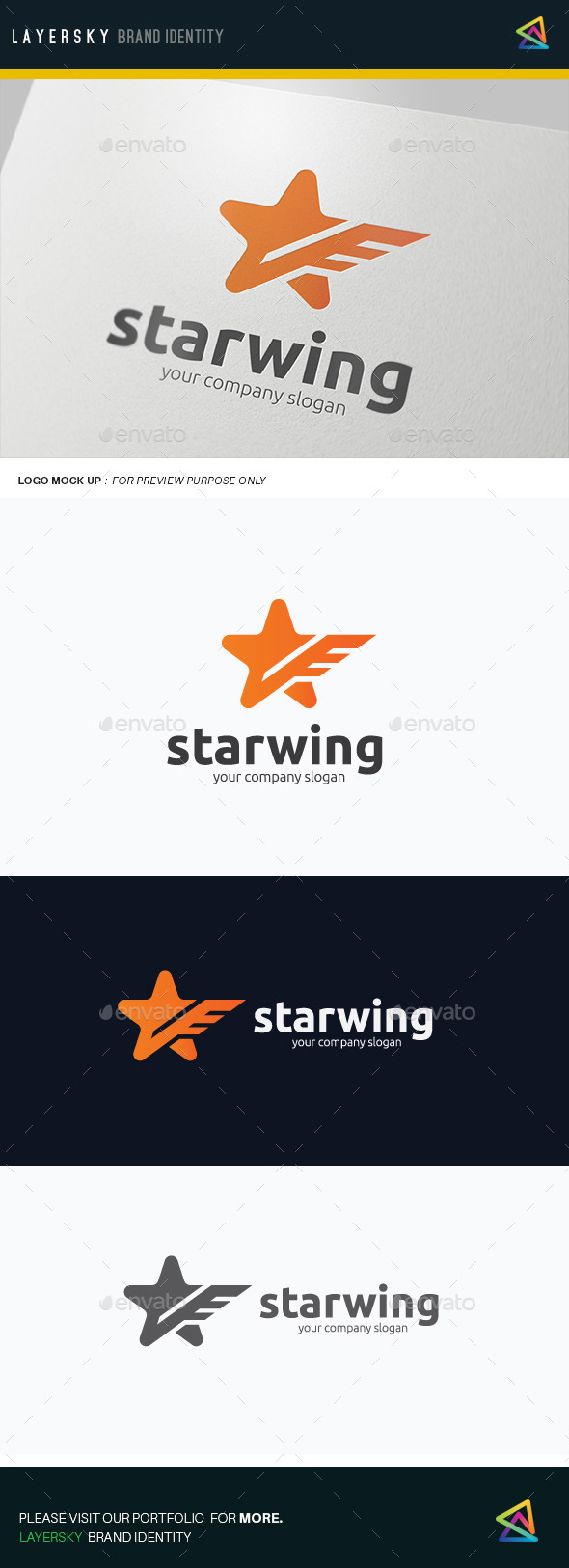 Star Wing - Objects Logo Templates