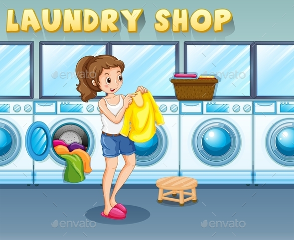 Laundry - People Characters
