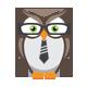Smart Owl Logo - GraphicRiver Item for Sale
