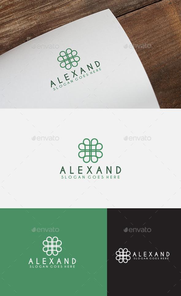 Alexand Logo  - Abstract Logo Templates