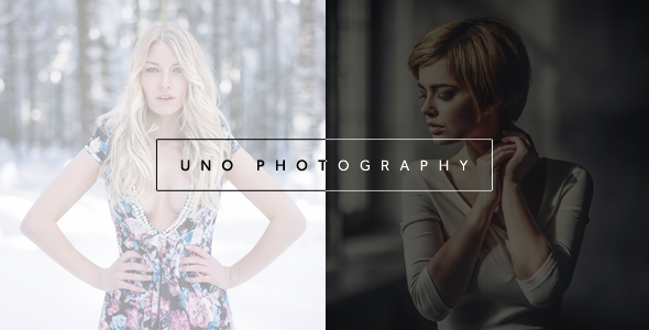 Uno – Creative Photography Template