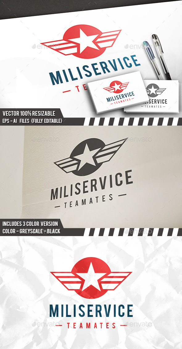 Military Service Logo - Crests Logo Templates