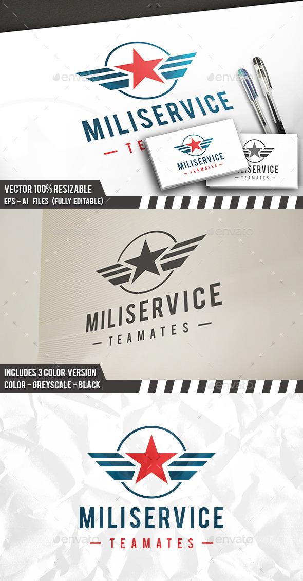 Military Club Logo - Symbols Logo Templates