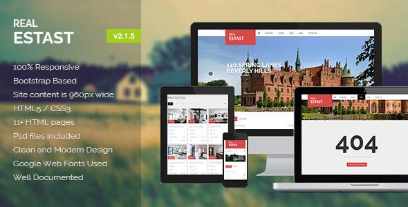 RealEstast – Real Estate HTML Template