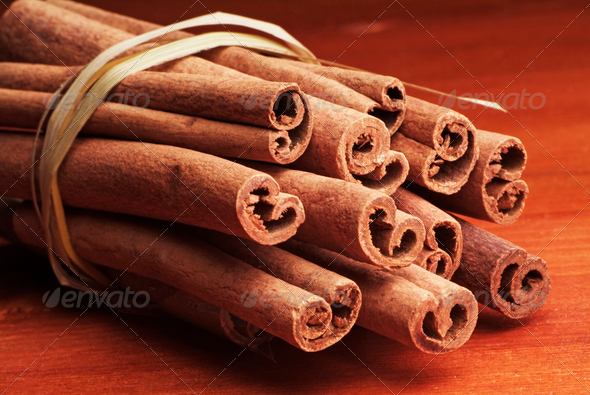 Cinnamon Sticks - Stock Photo - Images
