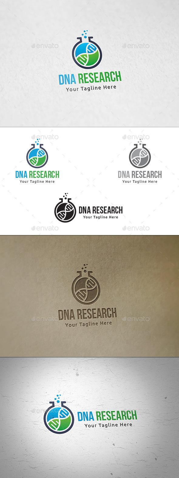 DNA Research - Logo Template - Symbols Logo Templates