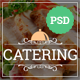Catering - Restaurant & Cafe PSD Template - ThemeForest Item for Sale