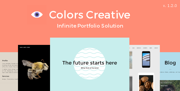 Colors Creative – Portfolio WordPress Theme