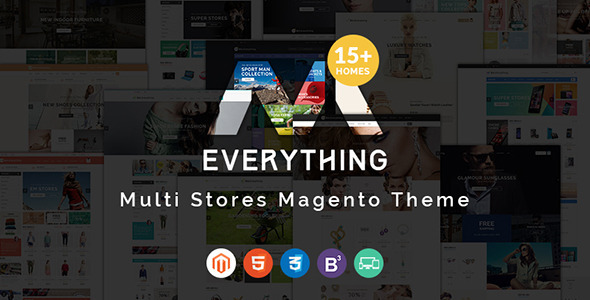 Everything Store – Multipurpose Responsive Magento