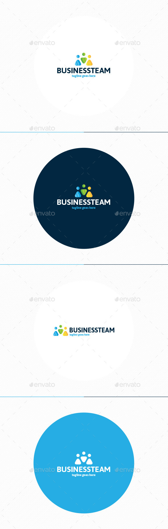 Business Team Logo - Humans Logo Templates