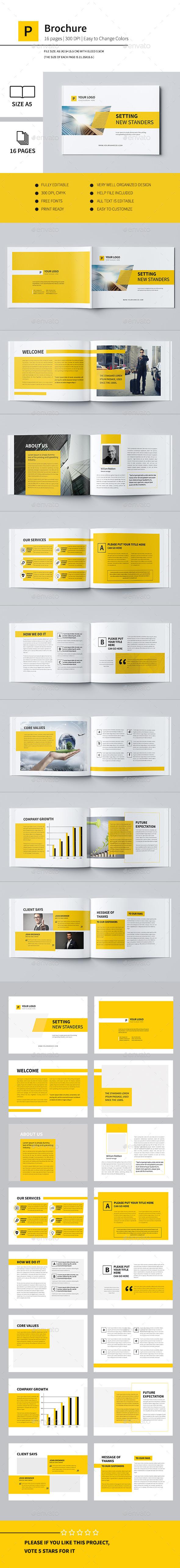 Minimal Business Brochure II - Corporate Brochures