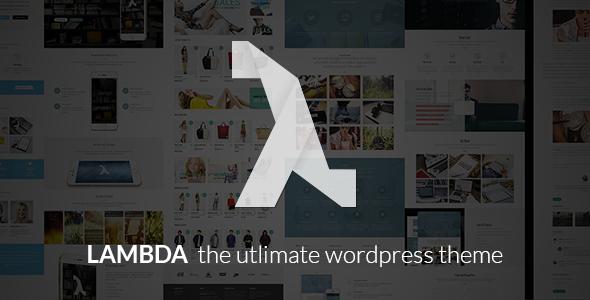 Lambda – Multi Purpose Responsive Bootstrap Theme