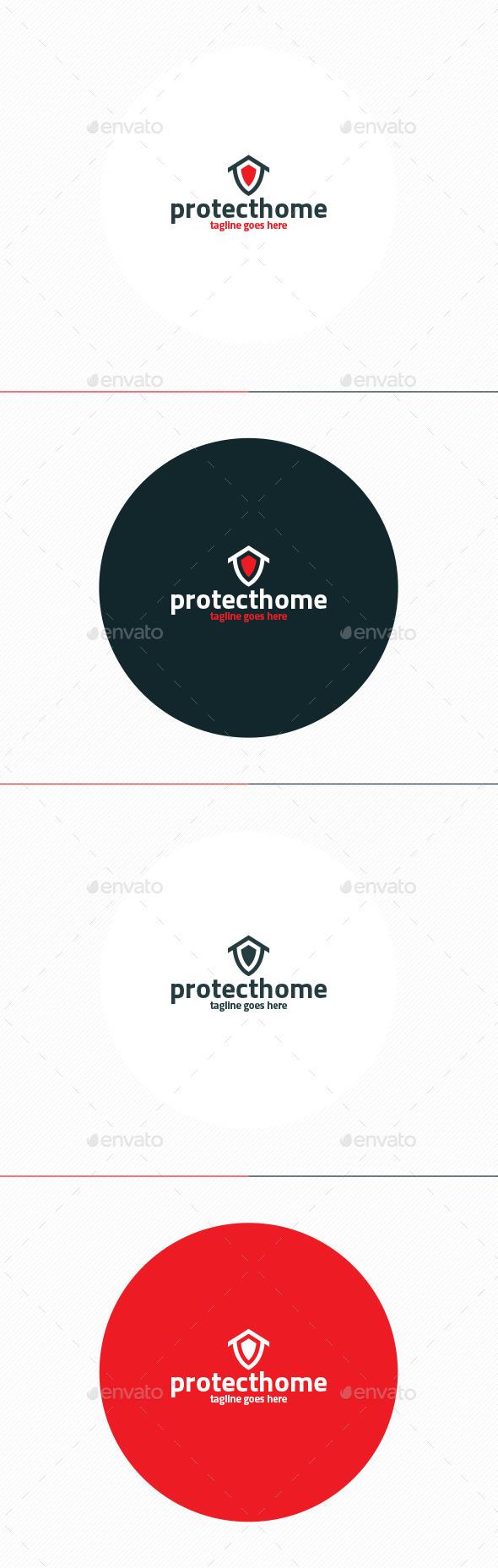Protect Home Logo - Symbols Logo Templates