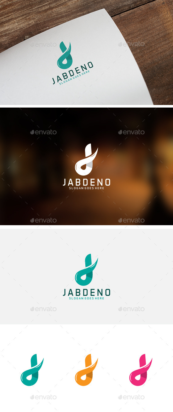 J Letter Logo - Abstract Logo Templates