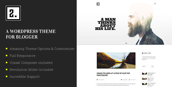 Ri Two Multipurpose WordPress Blog Theme