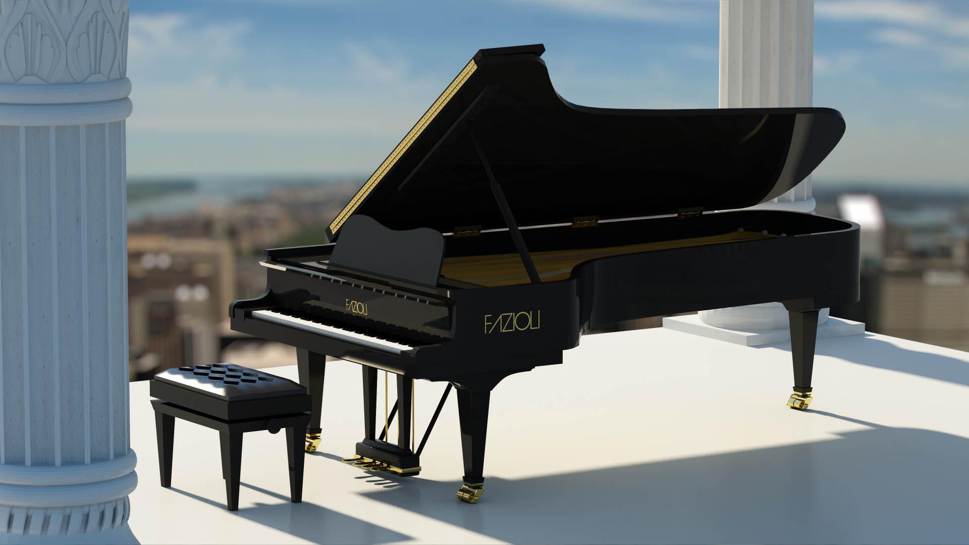Concert Grand Piano By Ryo Pegasus 3docean