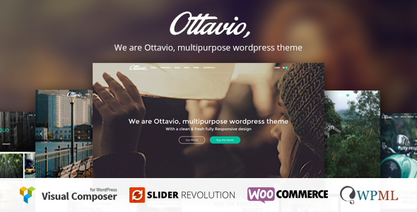 Ottavio – Responsive Multi-Purpose WordPress Theme