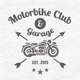 Motorcycle club vector logo or crest - GraphicRiver Item for Sale