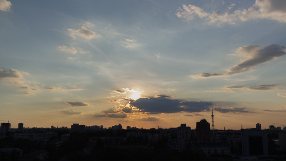 City Sunset 8