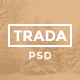 Trada - Creative Onepage PSD Template - ThemeForest Item for Sale