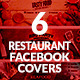 Restaurant Facebook Covers - GraphicRiver Item for Sale