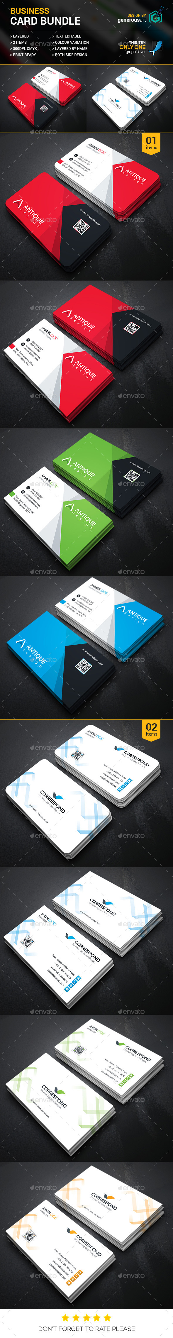 Business Card Bundle 2 in 1 2