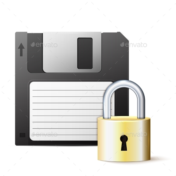 Diskette and Lock