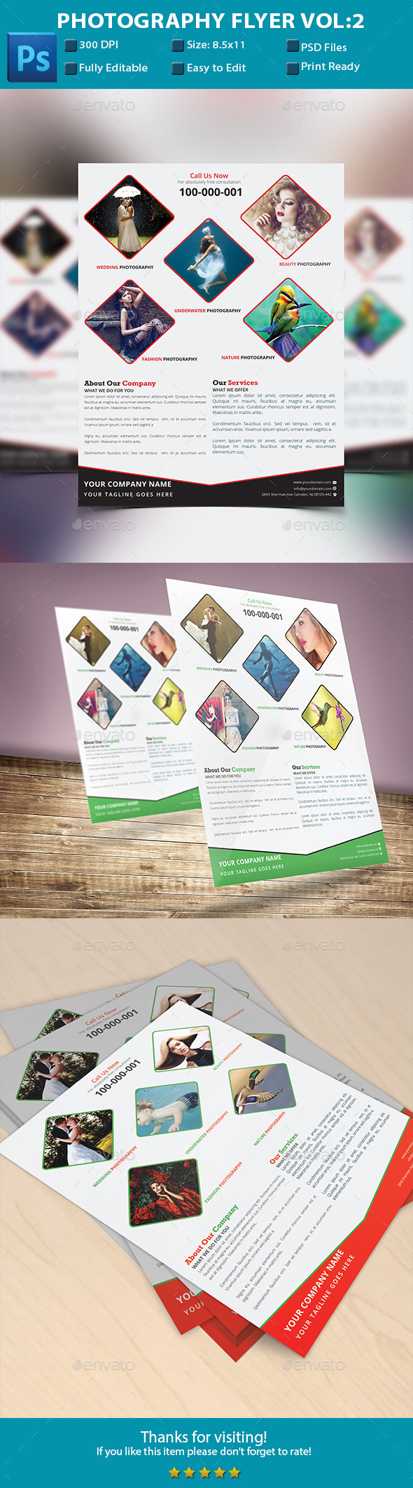 Photography Flyer Vol:2  - Creative Business Cards