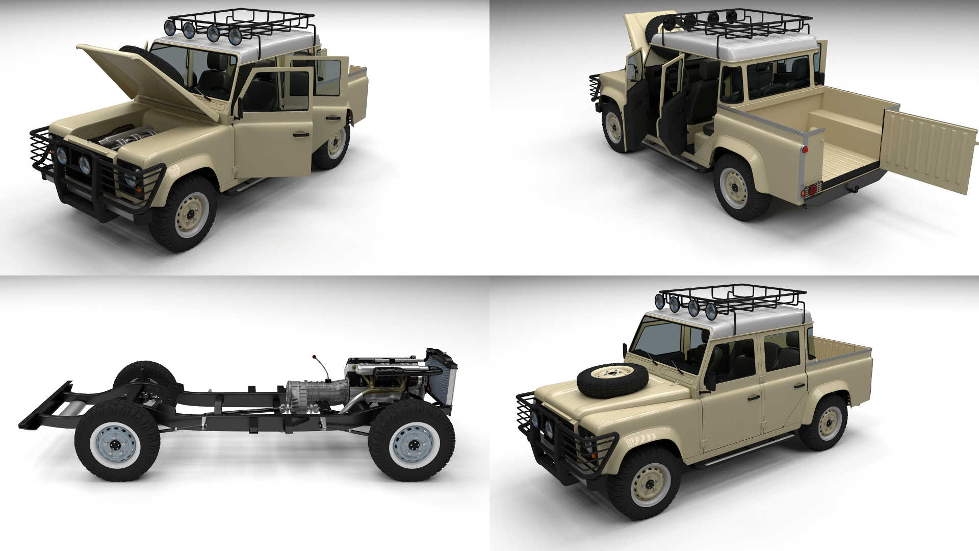 full land rover defender 110 double cab pick updragosburian