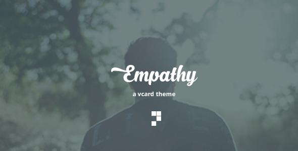 Empathy – A VCard Theme