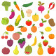 Collection of Vegetables and Fruits - GraphicRiver Item for Sale