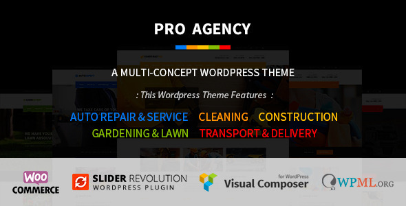 Pro Agency – Multipurpose WordPress Theme