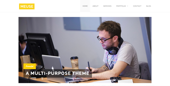 Meuse - Multi-Purpose HTML Theme - Corporate Site Templates