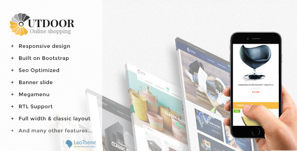 Leo Out Door Responsive Prestashop Theme - Shopping PrestaShop