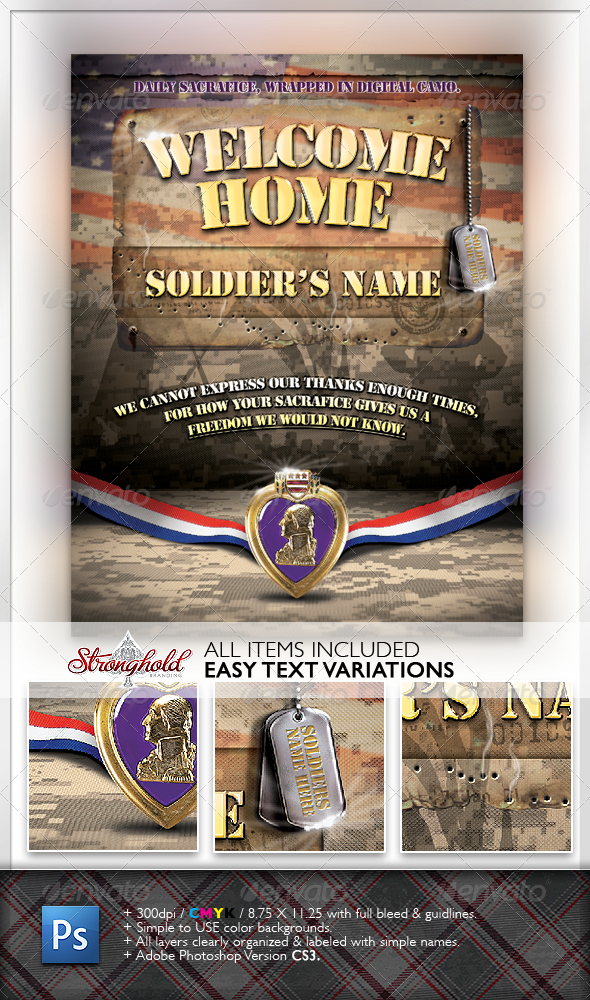 Welcome Home Soldier Flyer - Miscellaneous Events